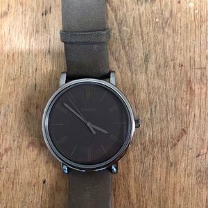 Timex Dark Grey Watch